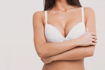 Breast augmentation with fat transplantation